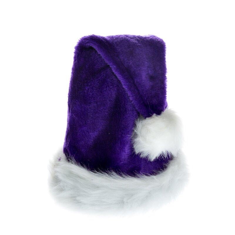 Weihnachtsmützen Nikolausmütze Weihnachtsmütze Santa Plüsch hohe Qualität Mützen
